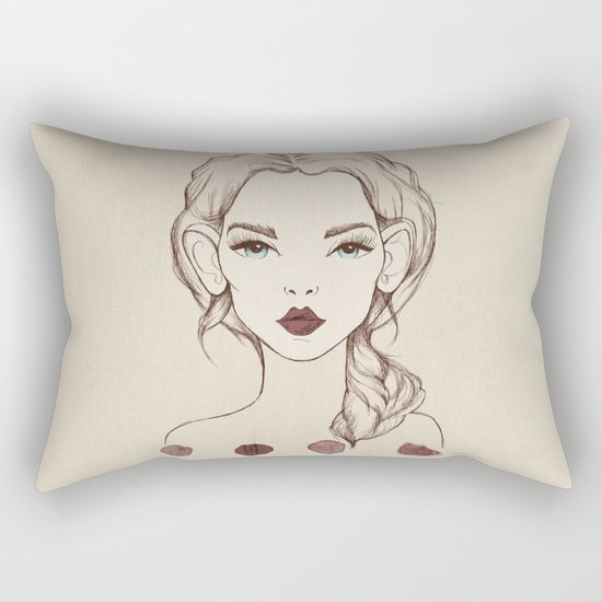 Marsala Rectangular Pillow