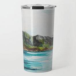 Napali Coast Dreaming Travel Mug