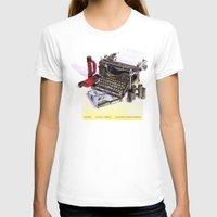 typewriter T-shirts featuring Typewriter by Nancy L. Hoffmann