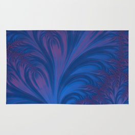 Stacking Hearts - Fractal Art Rug