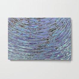 Capillary Wave Metal Print
