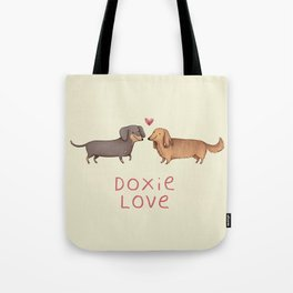 Doxie Love Tote Bag