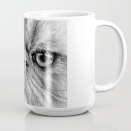 Persian Cat B&W 831 Coffee Mug