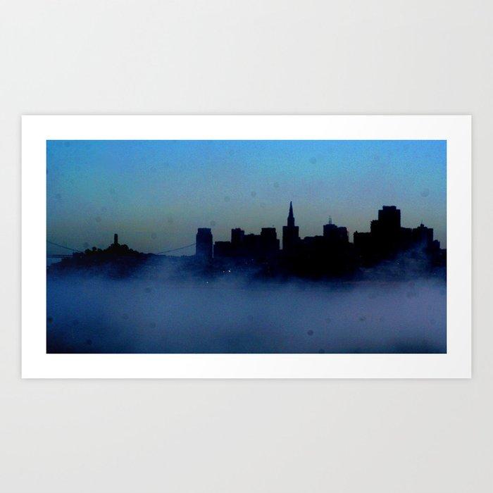 San Francisco Skyline Art Print