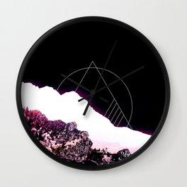 Mountain Ride Wall Clock
