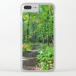 Show Me Another Way Clear iPhone Case