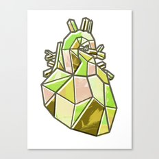 Anatomical Heart Canvas Print