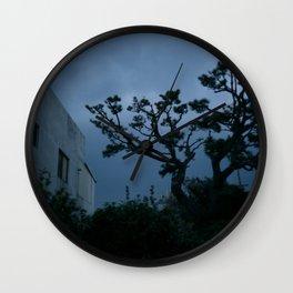 Jeju Storm Wall Clock