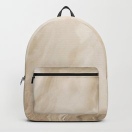 Brown Turquiose Marble texture Backpack