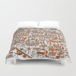 Where's Willem? Duvet Cover