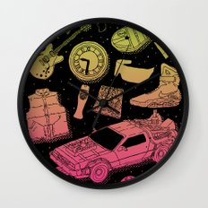 Artifacts: Back to the Future Wall Clock