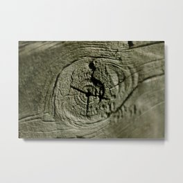 Nothing but wood! Metal Print