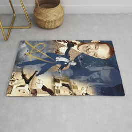 Fred Astaire Collage Portrait 4 Rug
