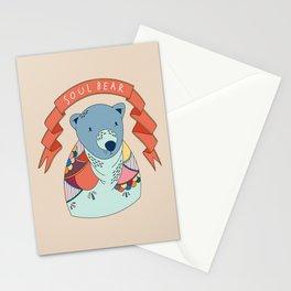 Soul Bear Stationery Cards