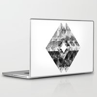 cityscape Laptop & iPad Skins featuring Cityscape   by To Be Design