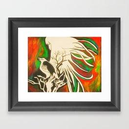 Haunt Me Framed Art Print