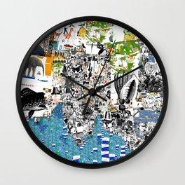 Oli Goldsmith Portrait of The Artist as His Art Wall Clock