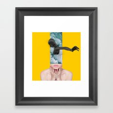 Life has been busy. Sorry ive been absent. Framed Art Print