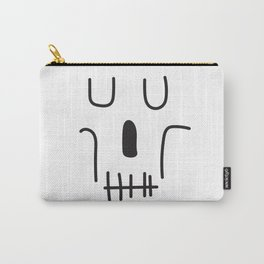 Line Art Skull Carry-All Pouch