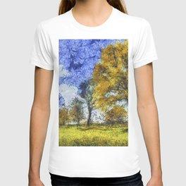 Summer Farm Van Gogh T-shirt