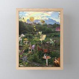 Earth Wren Garden England Framed Mini Art Print