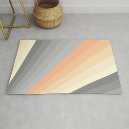 Sunrise - Colorful Abstract Art Rug