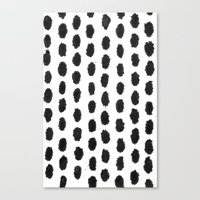 dot Canvas Prints featuring Dot by Studio#19