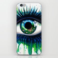 -The peacock- iPhone & iPod Skin