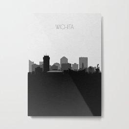 City Skylines: Wichita Metal Print