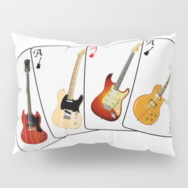 Guitar Hand Pillow Sham
