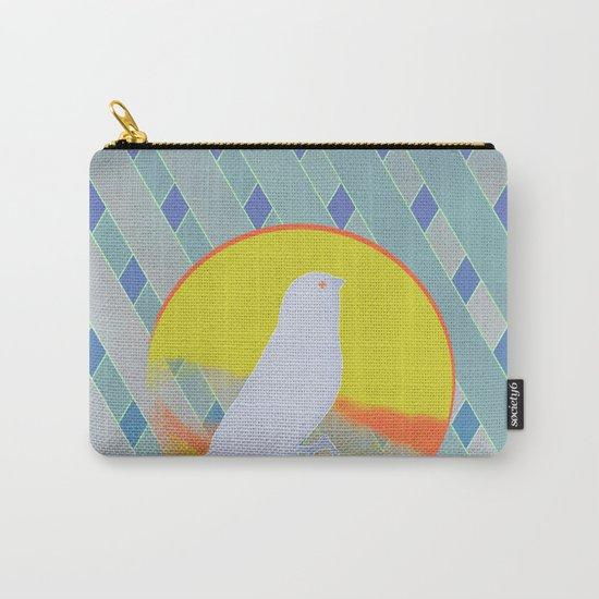 Bluebird waits summer Carry-All Pouch