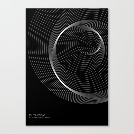 Futurism - Orbits Canvas Print