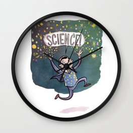 Neil deGrasse Tyson - Science! Wall Clock