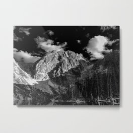 Dragontail Peak Metal Print