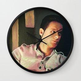 Justified: Tim Gutterson Wall Clock