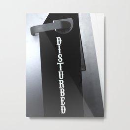 DISTURBED Metal Print