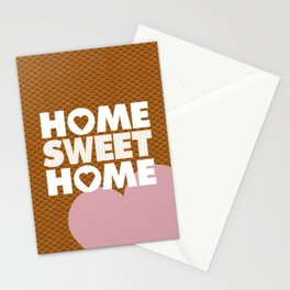 Home Sweet Home Print  by LapisLazuliCreative Stationery Cards