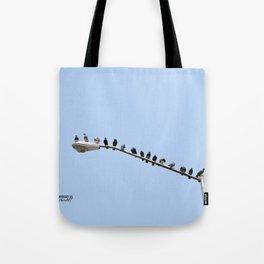 Tote Bag - Seagull Skies by VIDA VIDA