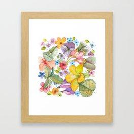 Spring Botanical Framed Art Print