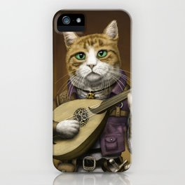 Bard Cat iPhone Case
