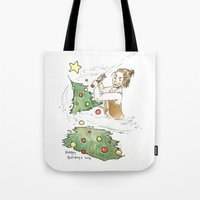 jedi Tote Bags featuring Jolly Jedi by Khaedin