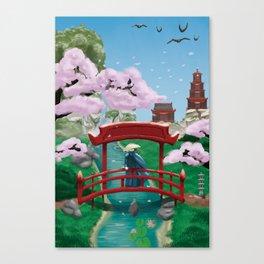 Resting Lands Canvas Print