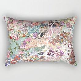 Kodaikanal map Rectangular Pillow