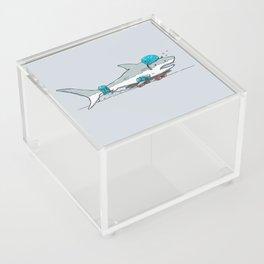 The Shark Skater Acrylic Box