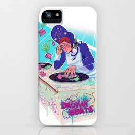 Amelia Bedelia drops the beat iPhone Case