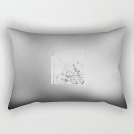 Old Flowers Rectangular Pillow
