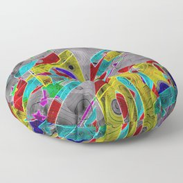 shaping-Up Floor Pillow