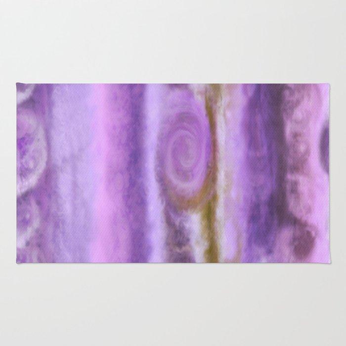 Purple Jupiter Rug