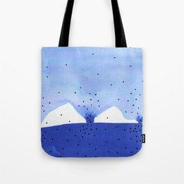 Bright blue series #4 Tote Bag