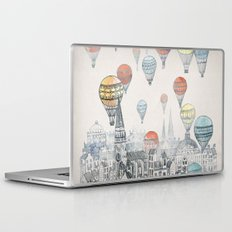 Voyages over Edinburgh Laptop & iPad Skin